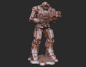 DR1 DeeBee Gears of War 3D Model STL File 3D Print