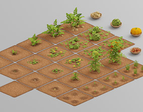 3D asset Vegetable Farm G26