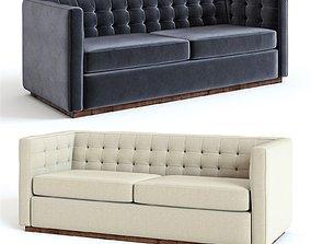 West Elm Rochester Sofa 3D upholstery