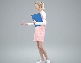 Ready-Posed 3D Uniformed Humans at Work MeMsS012HD2