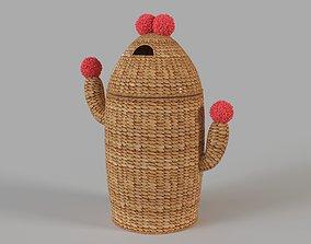 Cactus Hamper 3D