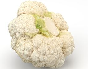 Cauliflower accurate 3D model