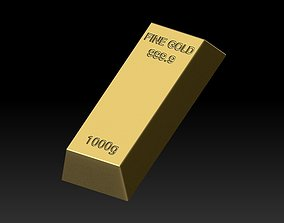 Gold Bullion 3D business