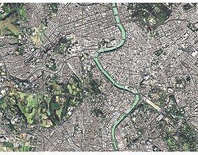 Cityscape Rome Italy 3D model