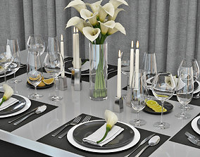table setting 04 3D