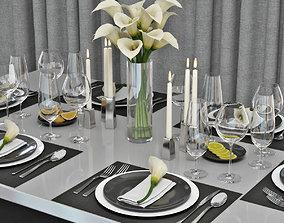table setting 04 3D