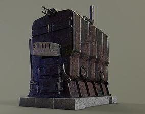 Old Boiler 3D model