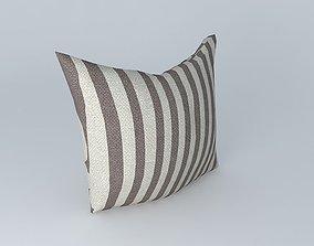 3D model Green Stripe pillow