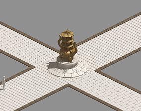 3D Dynasty Incense burner - Surface 03