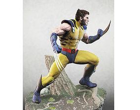 3D printable model Wolverine stl