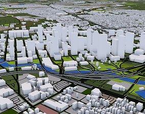 Houston City USA 3D asset
