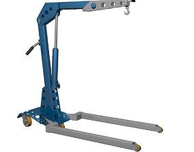 Crane lifting 3D model