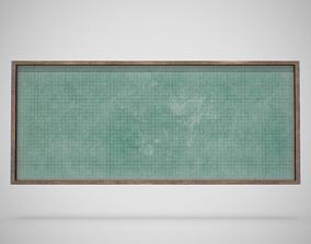 3D model Blackboard - Generic 01