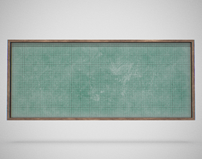 3D model Blackboard - Generic 01