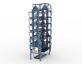 Rotary Parking System SM14L 3D