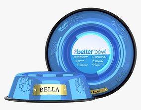 3D Large Bowl Sapphire Blue