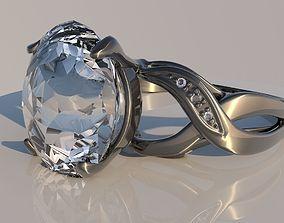 3D model Pack 12 diamond rings