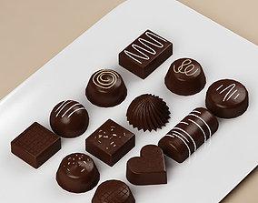 Cake 15 Chocolates 3D