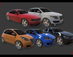 3D model Vehicle Pack Vol 1