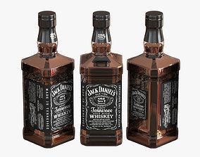 3D model Jack Daniels Whiskey Bottle