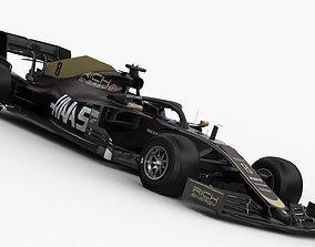 F1 Haas VF-19 2019 3D model f1