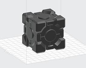 Companion cube 3D print model