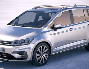 Volkswagen Touran R-Line 2018 3D model