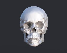 3D print model head Human Skull