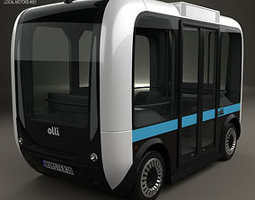 3D Local Motors Olli Bus 2016