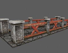bridge 3D asset VR / AR ready