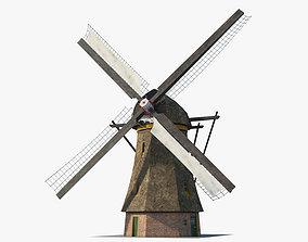 3D model Windmill Holland