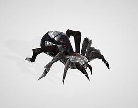 animals Spider 3D model rigged