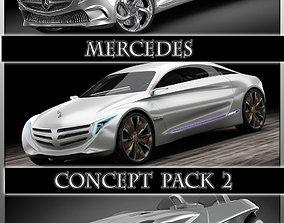3D Mercedes Concept pack 2
