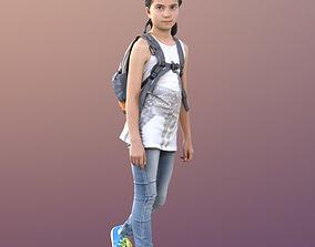 Sophie 10050 - Walking Casual Child 3D asset