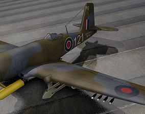 3D aircraft Blackburn B-37 Firebrand TF-5