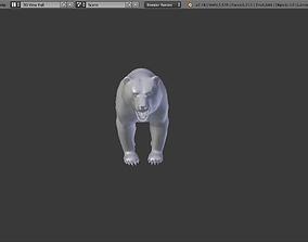 Bear Mid-Poly 3D model