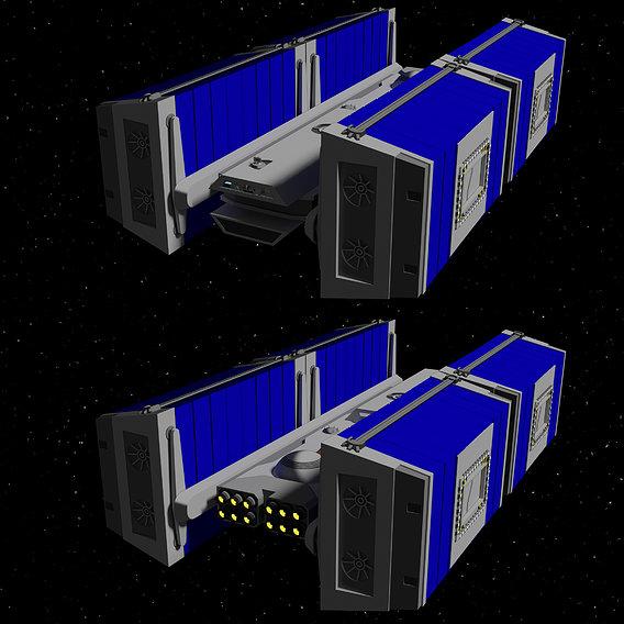 BFF-1 bulk freighter - Star Wars - Fan Art