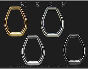 3D model Chain - 1 Ring