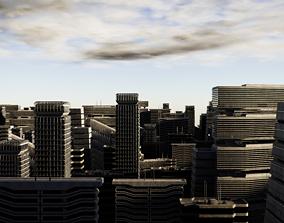 3D Sci-fi Building Pack