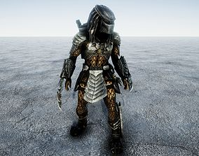 3D model Predator Combat Animated
