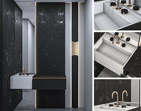 villeroy Bathroom Furniture 1 3D model