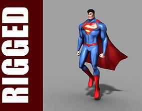 Superman Rig 3D
