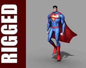 3D Superman Rig