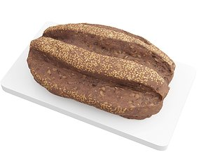 realtime Photorealistic 3D Scanned Bread 03