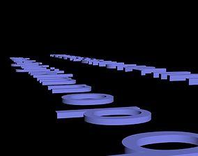 3D Alphabet realtime