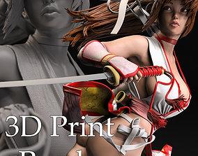 figurine Kasumi Fan Art 3D Print