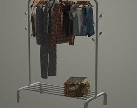 3D model Set of clothes
