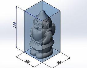 santa 3D print model Santa Claus