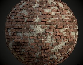 Old Brick Wall Texture Material 3D