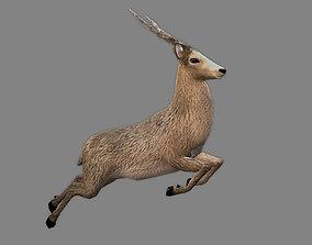 Royal Deer - Rigged 3D asset